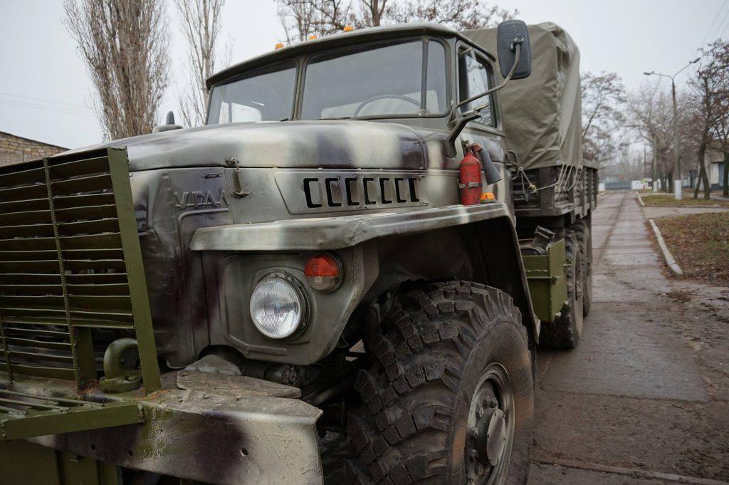 НМ ДНР: Украинский грузовик со снарядами подорвался в Донбассе