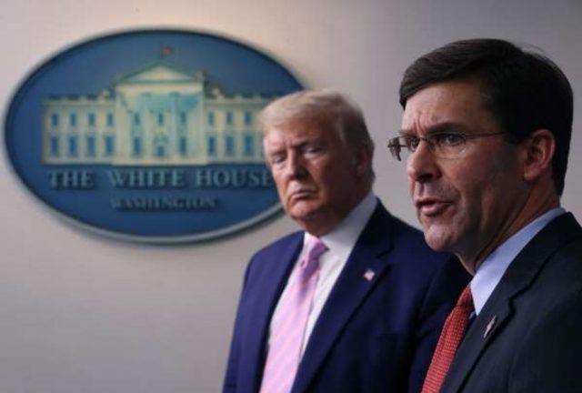 Трамп уволил главу Пентагона Марка Эспера
