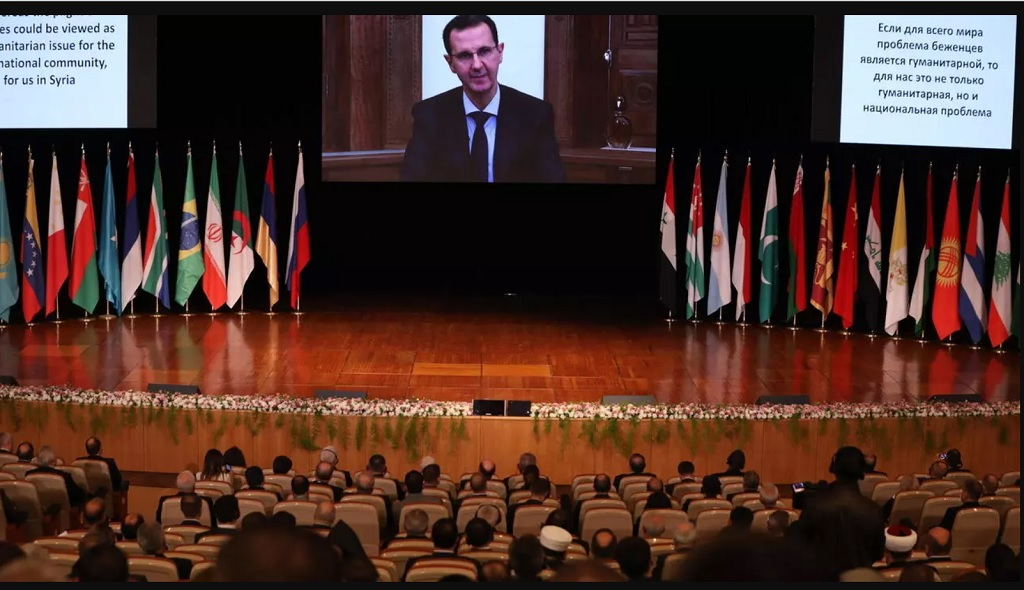 Международная конференция по беженцам и внутренне перемещенным лицам в Дамаске
