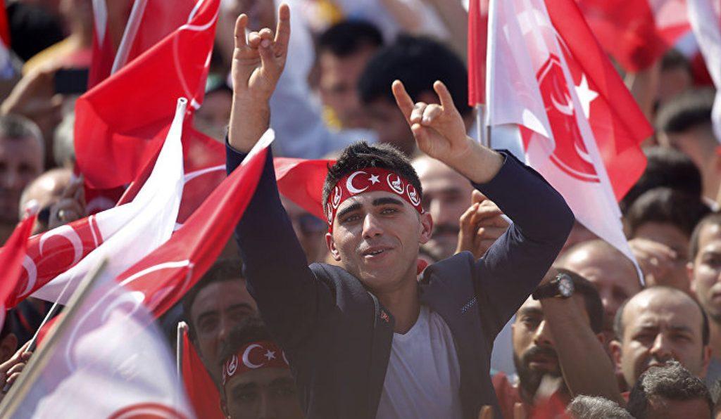 """турецкие ультраниционалисты """"Серые волки"""""""