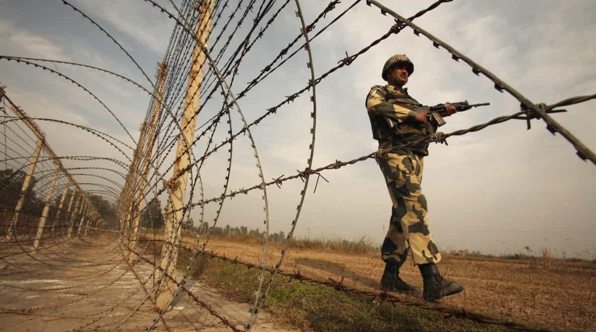 линия контроля в спорном Кашмире