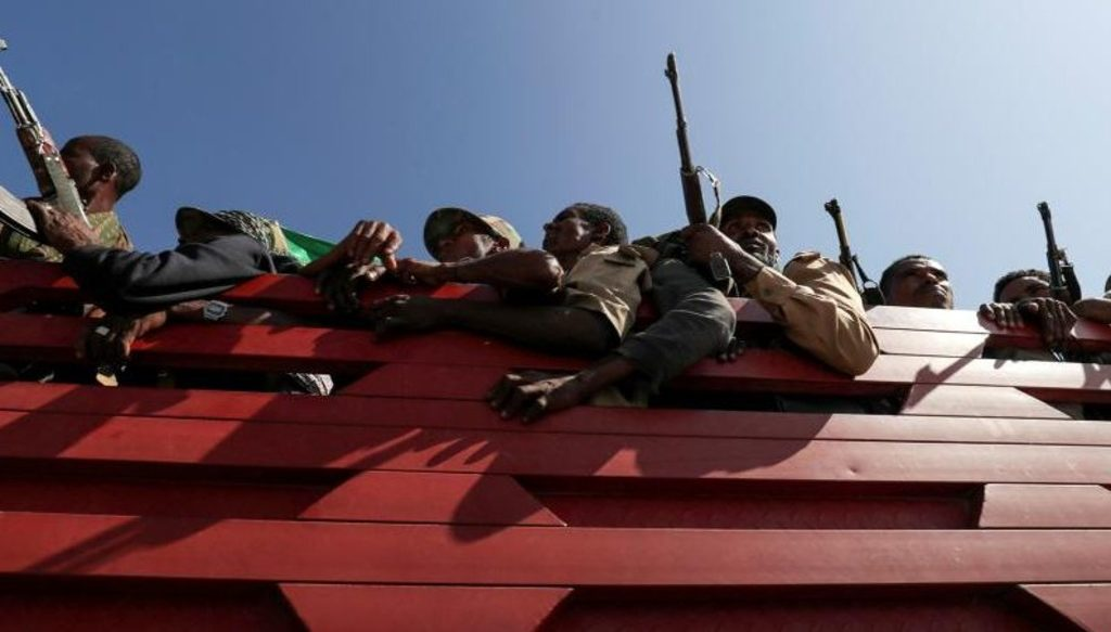 внутренний конфликт в Эфиопии