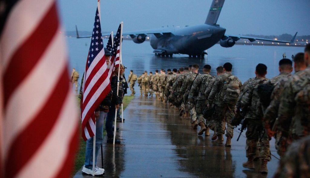 вывод войск США с Ближнего Востока