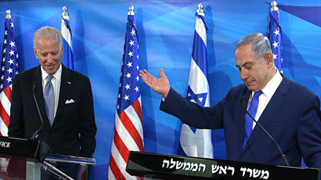 Джо Байден и Беньямин Нетаньяху