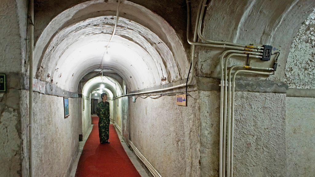 китайские военные тоннели