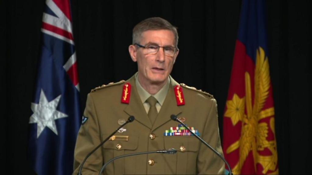 австралийский генерал Ангус Кэмпбелл