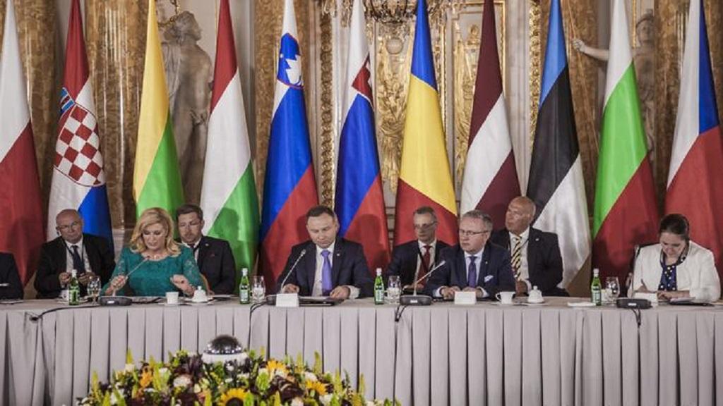 """Саммит """"Инициативы трех морей"""" в Варшаве (июль 2017 года)"""
