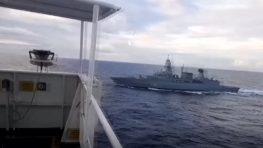 Немецкие военные попытались обыскать турецкое судно