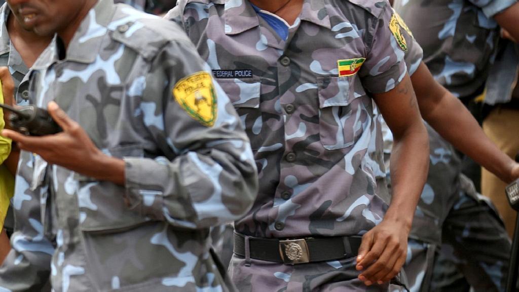полиция Эфиопии