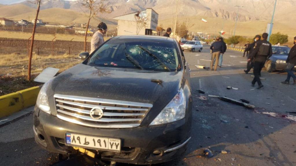 убийство иранского физика-ядерщика Мохсена Фахризаде