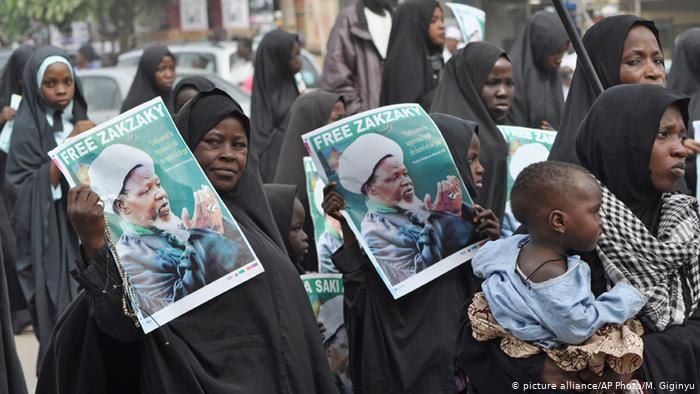 митинг шиитского Исламского движения Нигерии (IMN)