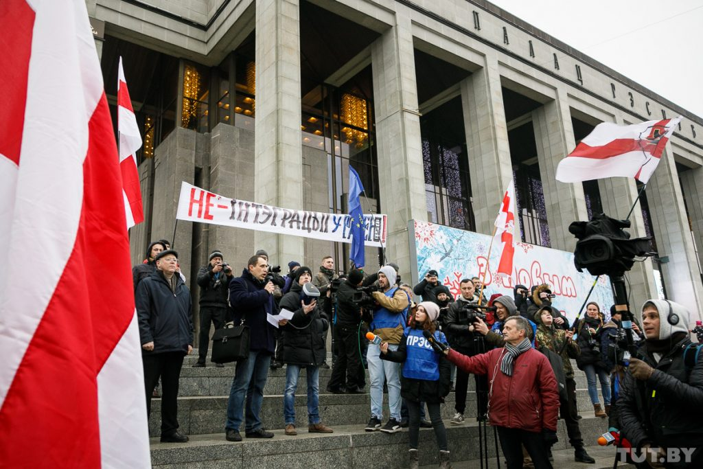 «Орден Иуды»: Литва готова отметить белорусскую оппозицию «Премией свободы»