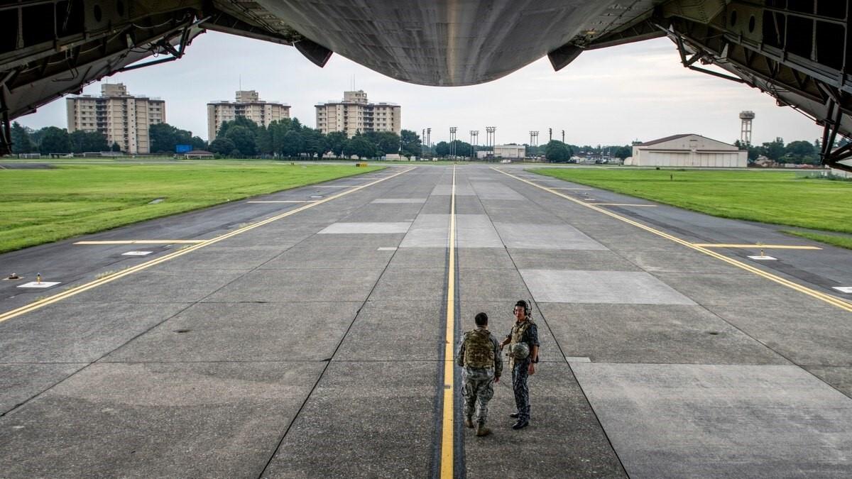 военная база в Японии
