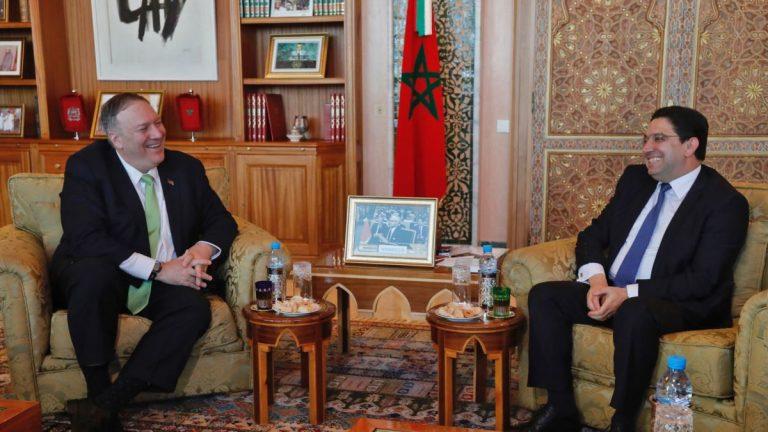 Помпео на переговорах с Марокко