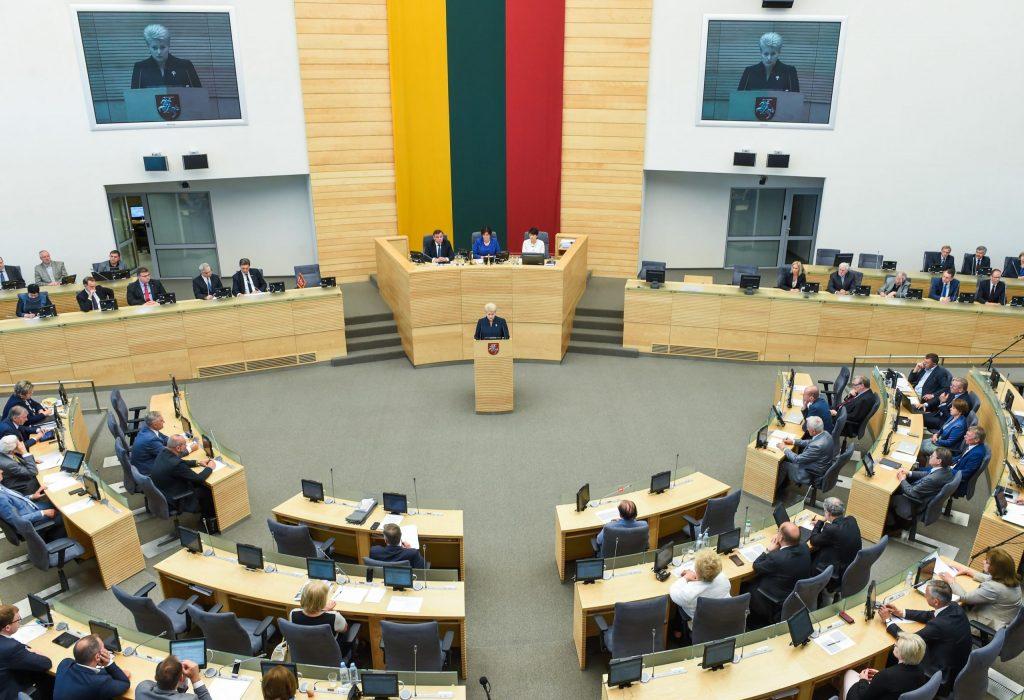 Итоги опроса: свыше 50% литовцев не доверяют правительству