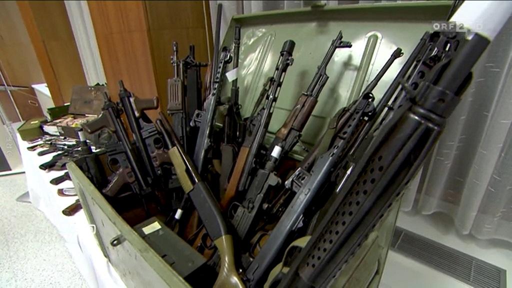 полиция Австрии нашла у ультраправых арсенал оружия