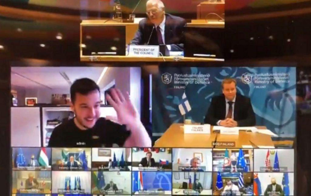 Встречу министров обороны ЕС посетил незваный «гость»