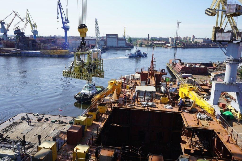 Балтийский ССЗ реализует проект IV серийного атомного ледокола «Чукотка»
