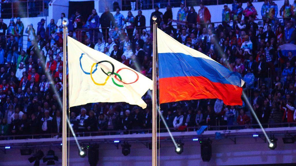 Российские спортсмены на 2 года остались без флага и гимна
