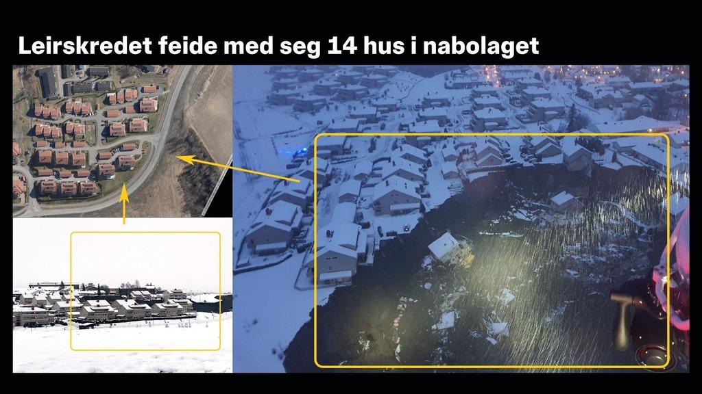 оползень на юге Норвегии