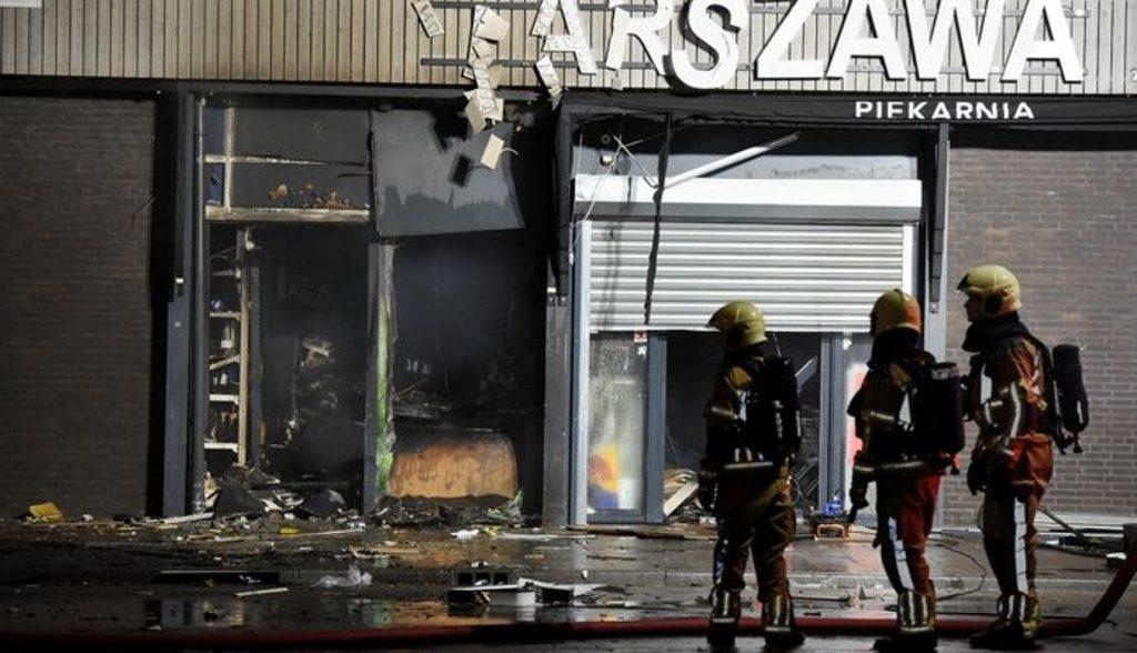 взрывы курдских магазинов в Голландии
