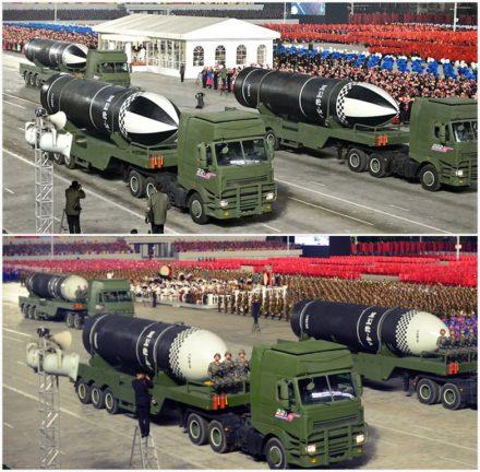 новая баллистическая ракета КНДР  январь 2021