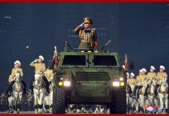 военный парад КНДР январь 2021