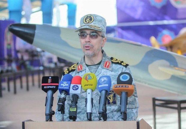начальник штаба ВС Ирана Мохамад Бакери