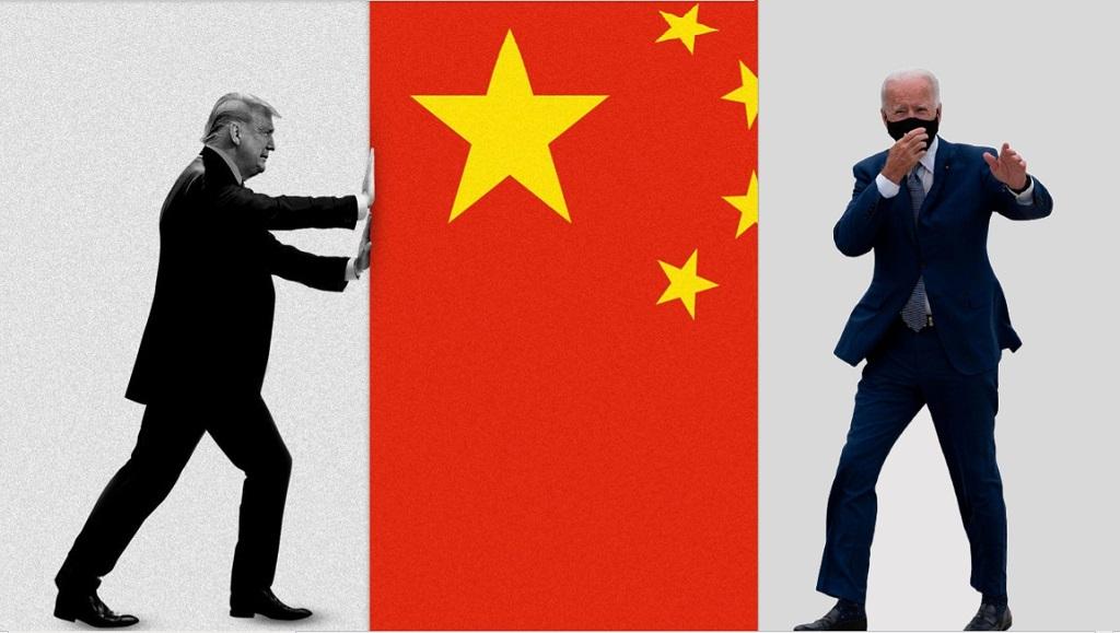 Байден Трамп Китай