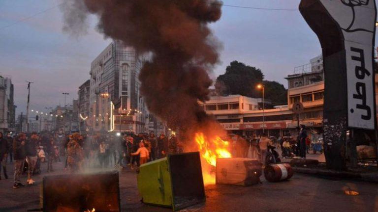 протесты и беспорядки в Ливане