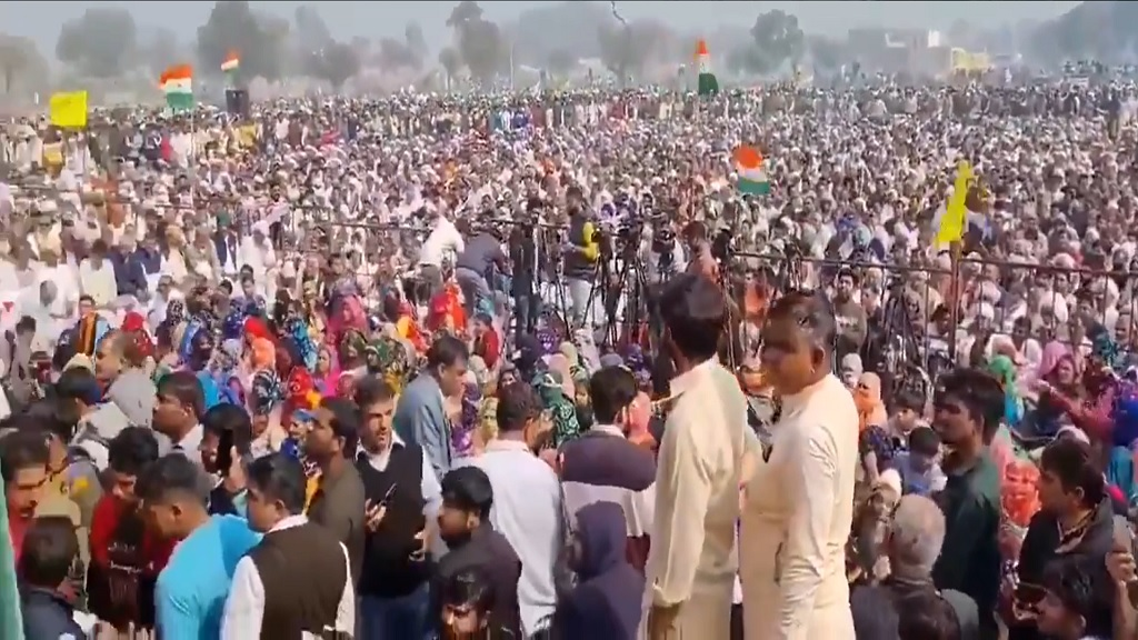 протесты крестьян в Индии