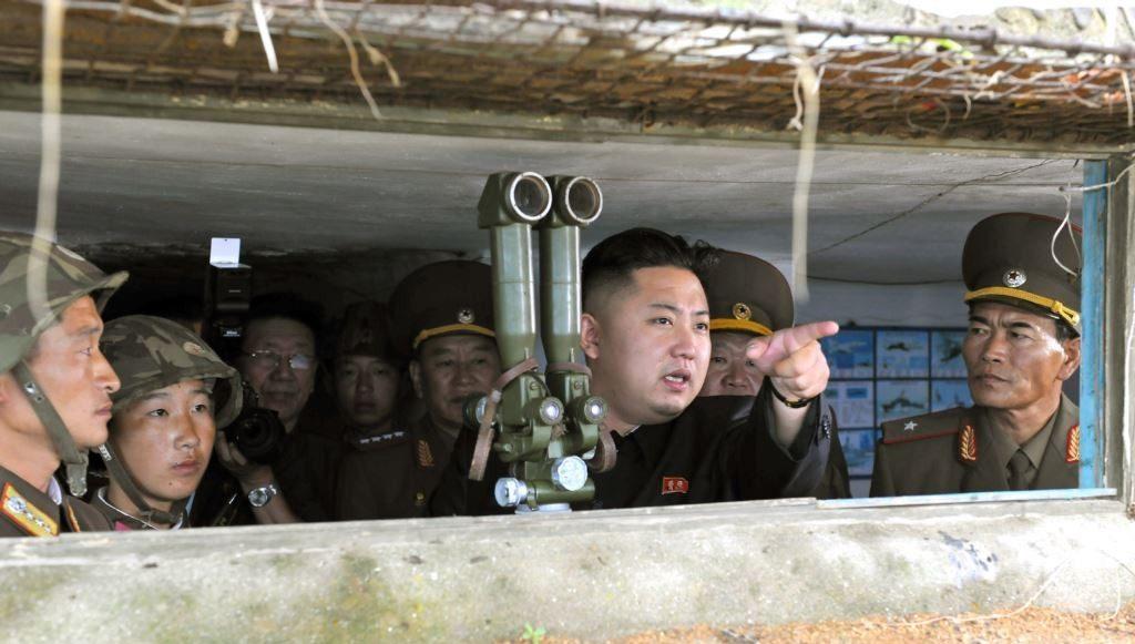Ким Чен Ын военные испытания Северной Кореи