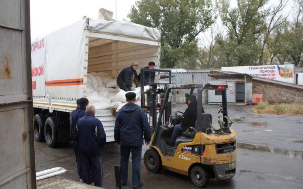 Суд Финляндии предъявил претензии рижскому блогеру за гумпомощь для Донбасса
