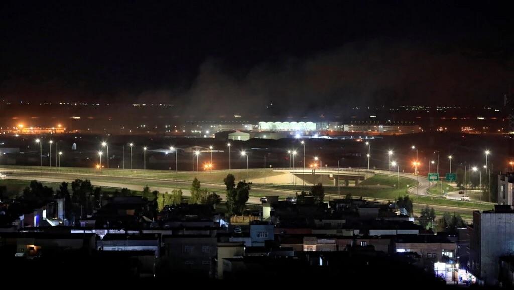 Эрбиль после атаки 15 февраля