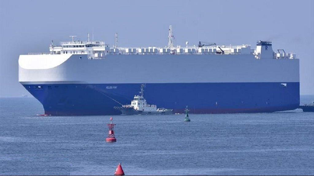 грузовое судно Helios Ray
