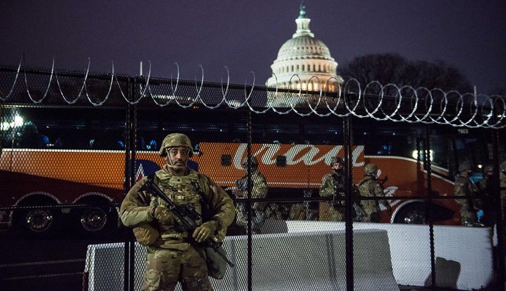 Капитолий в США охраняет Национальная гвардия