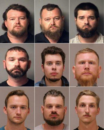 подозреваемые в заговоре о похищении губернатора Мичигана