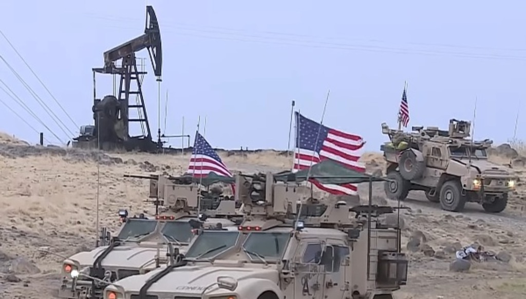 США воруют сирийскую нефть