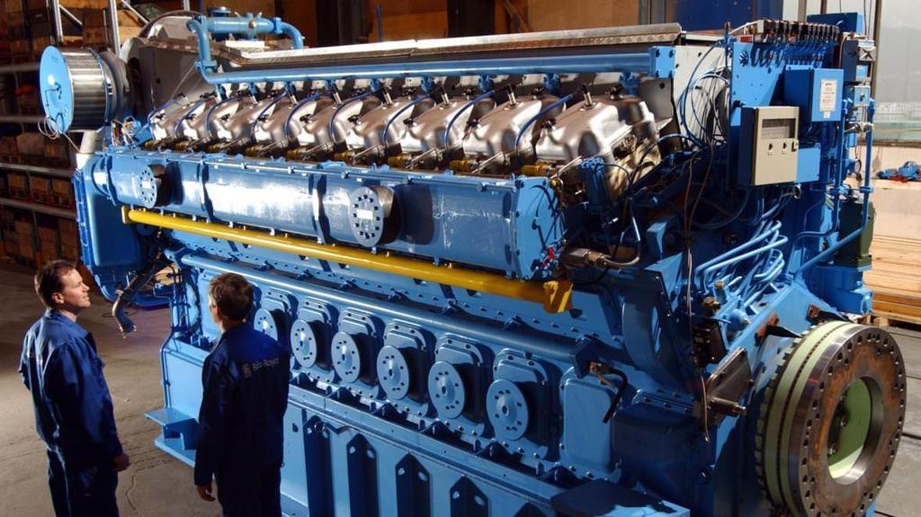 норвежский завод по производству двигателей Bergen Engine