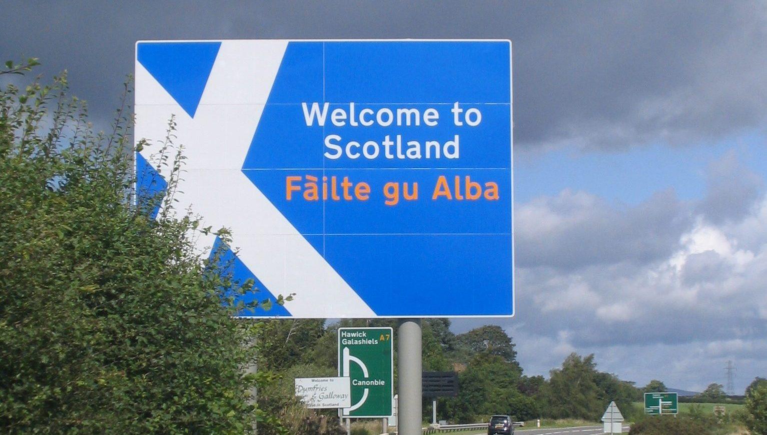 Добро пожаловать в Шотландию