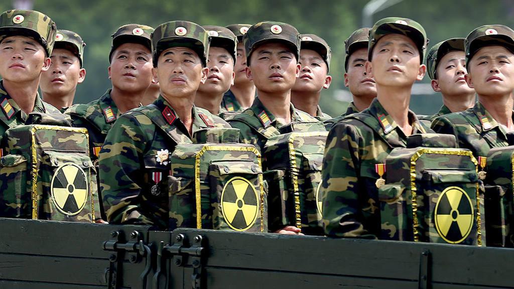 ракетные учения Северной Кореи