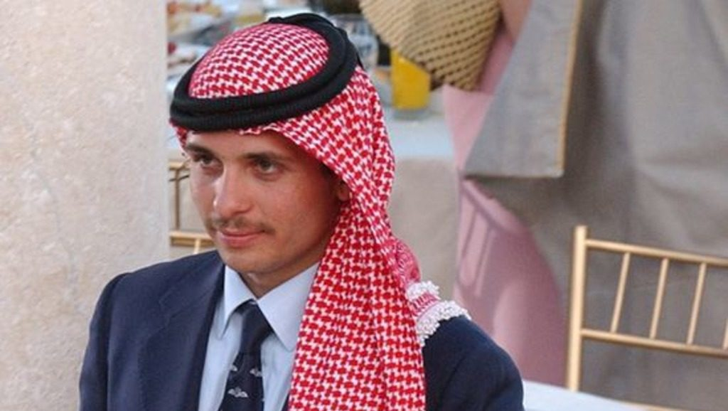 принц Хамза из Иордании
