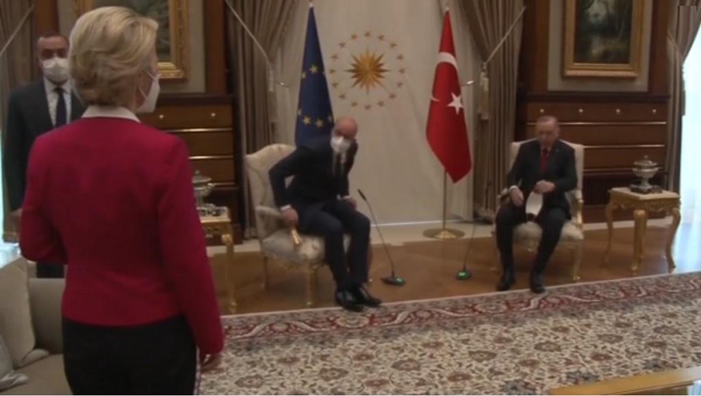 Софагейт, визит делегации ЕС в Анкару