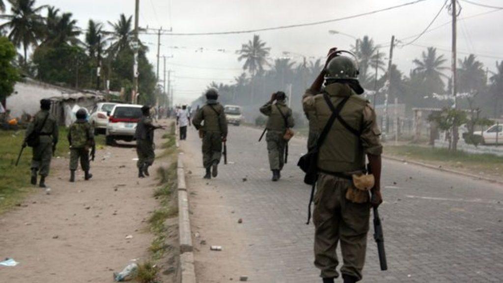 военные Мозамбика