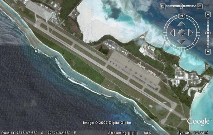 база США в архипелаге Чагос
