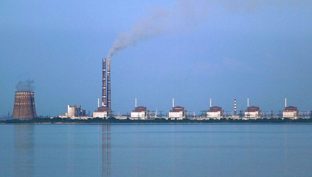Запорожская АЭС на Украине