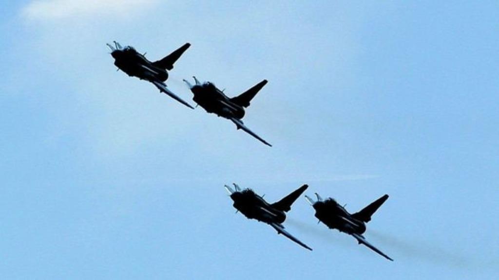 китайская военная авиация