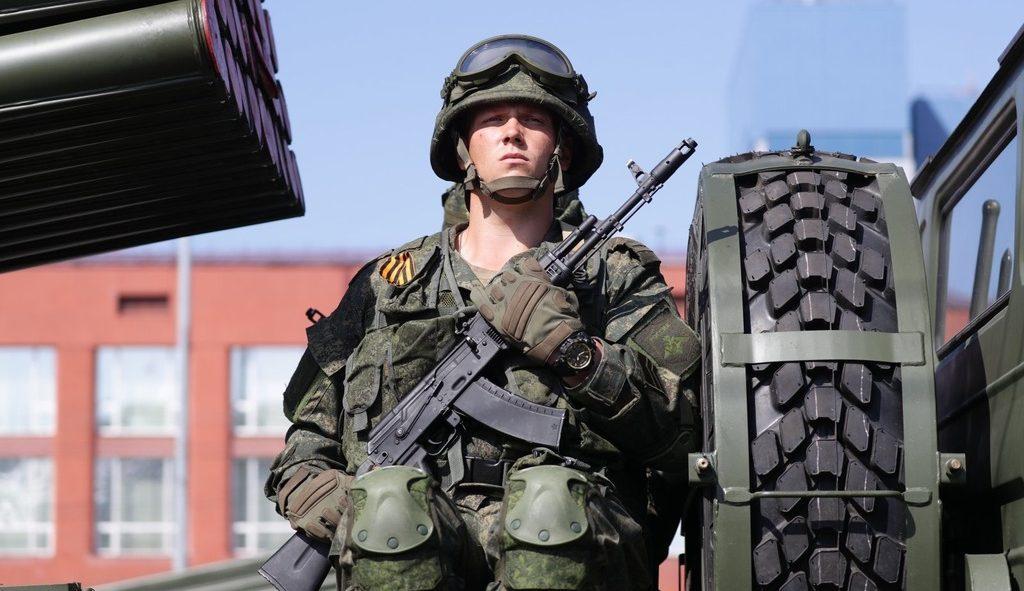 русский солдат
