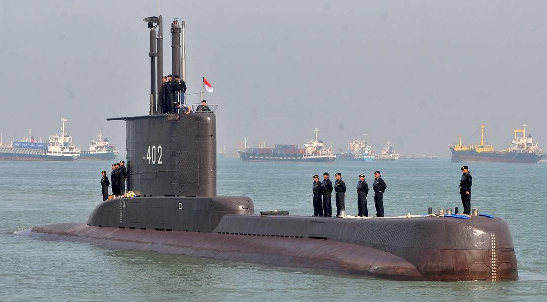подводная лодка Индонезии KRI Nanggala-402