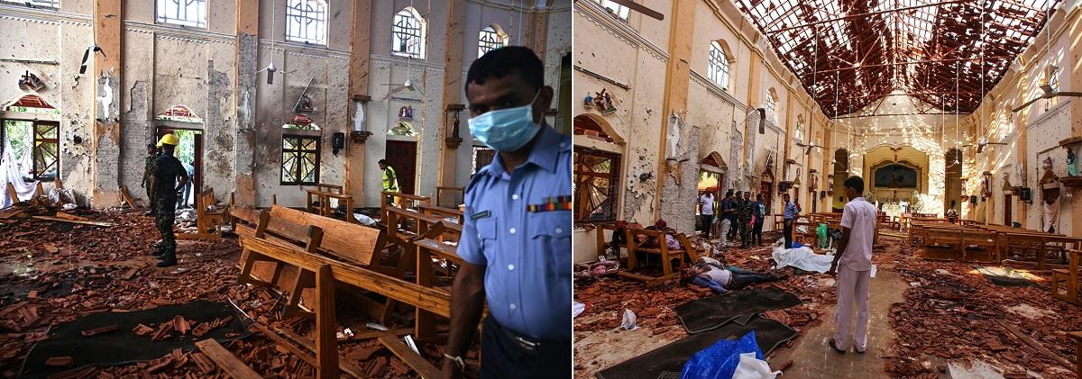 теракты на Шри-Ланке 21 апреля 2019 года